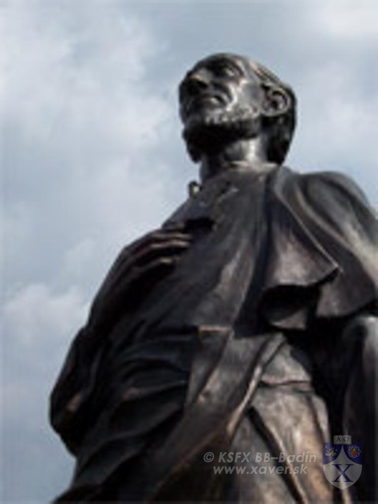 socha sv. Františka Xaverského
